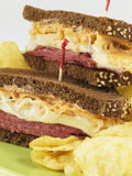 Stacked Reubens Royalty Free Stock Photo