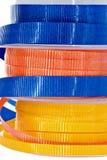 Stacked ribbon Royalty Free Stock Photos