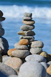 Stacked river rock Stock Photography