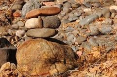 Stacked Rocks Stock Photo