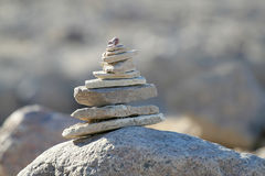 Stacked Rocks Stock Images