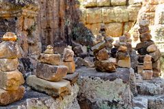 Stacked Rocks Royalty Free Stock Photo