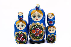 Stacked Russian Dolls Royalty Free Stock Photo