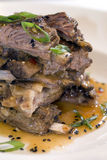 Stacked short ribs Stock Image
