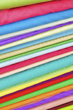 Stacked Silk Royalty Free Stock Photo