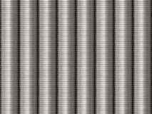 Stacked SIlver Coins Background Stock Photography