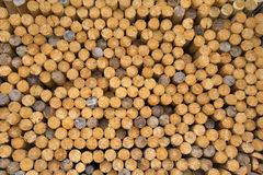 Stacked spars Stock Photos