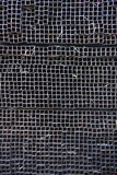 Stacked square metal Royalty Free Stock Photos