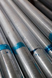 Stacked Steel Pipe Royalty Free Stock Photo