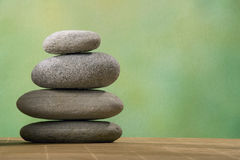 Stacked stone Stock Images
