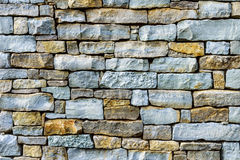 Stacked stone background Stock Photography