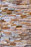 Stacked Stone Rock Wall Background closeup Royalty Free Stock Photo