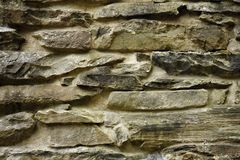 Stacked stone surface. Close up of a stacked stone surface royalty free stock image