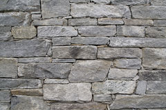 Stacked stone wall Royalty Free Stock Photo
