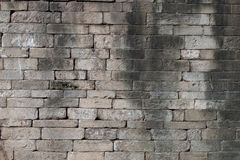 Stacked stone wall Stock Photo