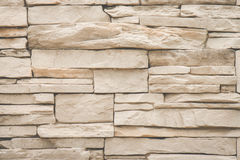 Stacked stone wall background, texture detail Stock Photo