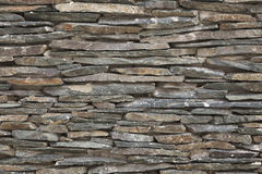 Stacked Stone Wall Texture XXL Royalty Free Stock Images