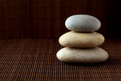 Stacked stones Royalty Free Stock Image