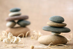 Stacked stones royalty free stock images