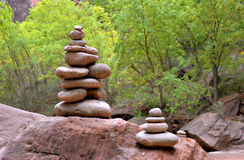 Stacked Stones Stock Photography