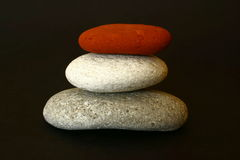 Free Stacked Stones Royalty Free Stock Images - 3444929