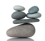 Stacked stones Royalty Free Stock Photography