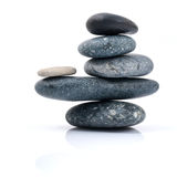 The stacked of Stones spa treatment scene zen like . Royalty Free Stock Image