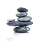 The stacked of Stones spa treatment scene zen like . Stock Photography
