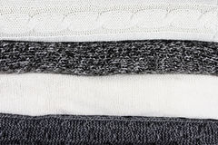 Stacked Sweaters Background royalty free stock photo