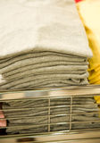 Stacked T-shirts Stock Photography