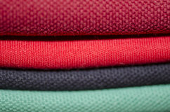 Stacked T-shirts Royalty Free Stock Image