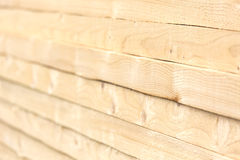 Stacked timber Royalty Free Stock Image