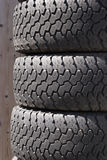 Stacked Tires Stock Photography