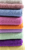 Stacked towels Stock Images