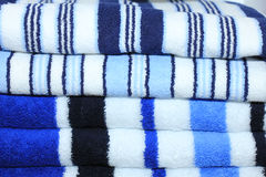 Stacked towels Royalty Free Stock Photos