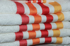 Stacked towels Royalty Free Stock Photography