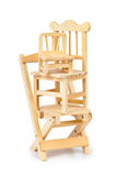 Stacked toy wooden chairs Stock Image