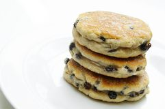 Stacked welsh cakes Stock Photography
