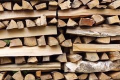 Stacked wood Stock Photos