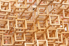 Stacked wood frame Stock Photos