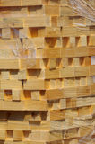 Stacked wood pine timber 3 Stock Photo