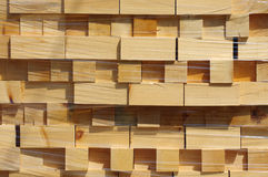 Stacked wood pine timber 2 Stock Photo