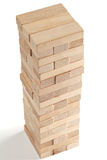 Stacked wooden blocks Stock Images