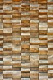 Wood boards stacked highly tightly. Stacked wooden board pattern with irregularities Stock Photos