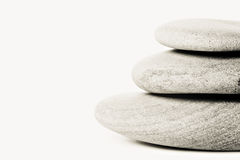 Stacked of zen stones Royalty Free Stock Photo