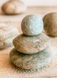 Stacked Zen stones Stock Photo