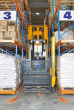 Stacker in Warehouse Stock Photos