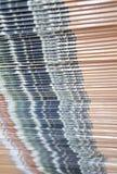 Stacking of printed matter Stock Image