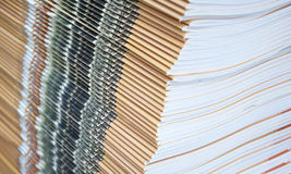 Stacking of printed matter Stock Photography