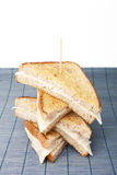 Stacking sandwiches Royalty Free Stock Photo